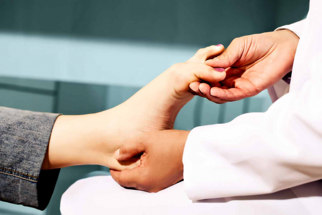 Analysis of Foot Heal and Toe